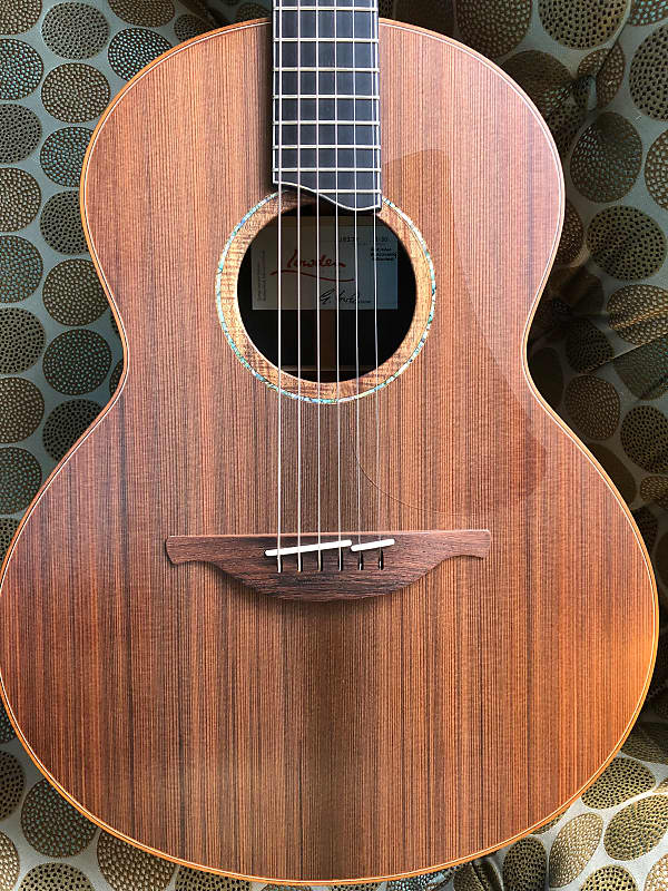 Lowden S50 African Blackwood and Redwood