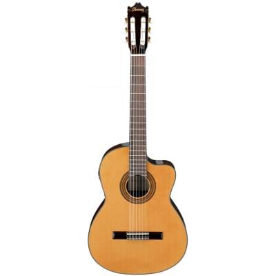 Ibanez GA6 CE Amber High Gloss Nylon String Guitar for sale