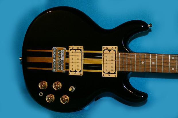 vintage cort electric guitar double cutaway circa reverb. Black Bedroom Furniture Sets. Home Design Ideas