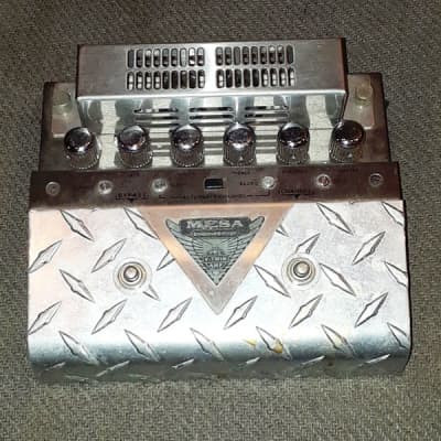 Mesa Boogie V-Twin Pre Amp Stainless Steel