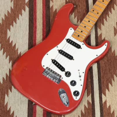 Fender USA International Color Series Stratocaster Morocco Red -1981- S/N S968212 - Free Shipping*