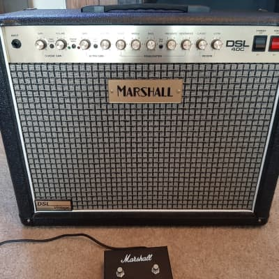 "Marshall DSL40C ""Vintage"" 40-Watt 1x12 Tube Guitar Combo Amp, Black Tolex"