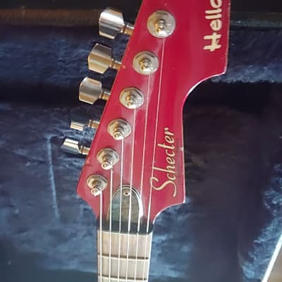 Schecter Hellcat 1998 Red for sale