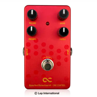 One Control BJFe Series Dyna Red Distortion 4K Pedal