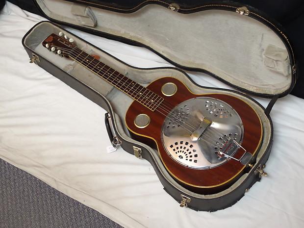 dobro square neck resonator guitar w case used vintage reverb. Black Bedroom Furniture Sets. Home Design Ideas