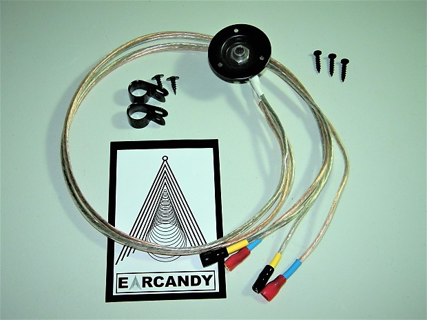 Guitar Amp Speaker Wiring Harness : Earcandy guitar amp speaker cab parallel wiring