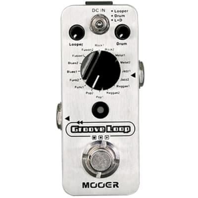 Mooer Groove Loop looper and drum machine pedal for sale