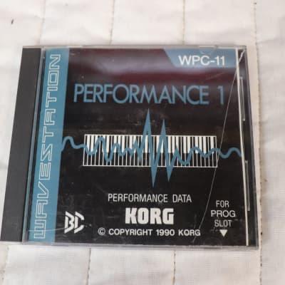 Korg Wavestation WPC-11 Performance 1 ROM Card