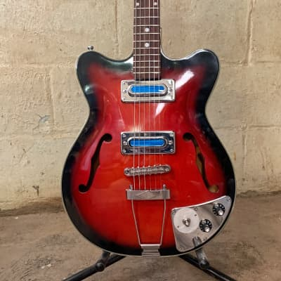 Fiama Teisco 1960s Archtop  Professional Rebuild Beautiful Condition Sounds / Plays Better Than New for sale