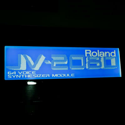 Roland JV-2080 (NEW) LED Graphic Display !