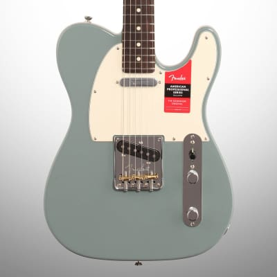 Fender American Pro Telecaster Electric Guitar, Rosewood Fingerboard with Case, Sonic Gray for sale