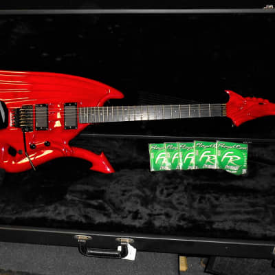 2008 Illusion Red Dragon  Electric Guitar for sale