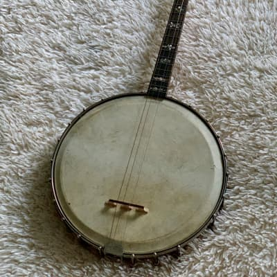 Early 1900's Orpheum No. 1 17 Fret Tenor Banjo Guitar for sale