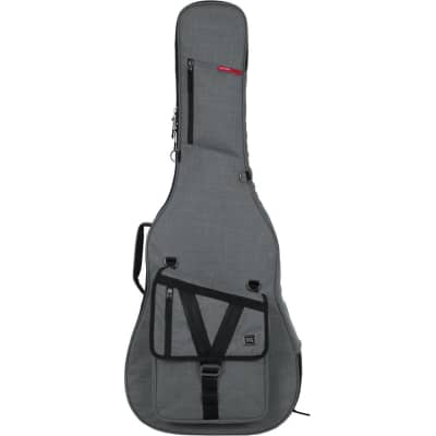 Gator GTACOUSTICGRY Transit Series Acoustic Guitar Gig Bag