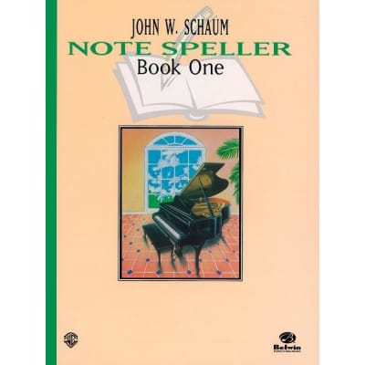 Note Speller by John W. Schaum - Book 1