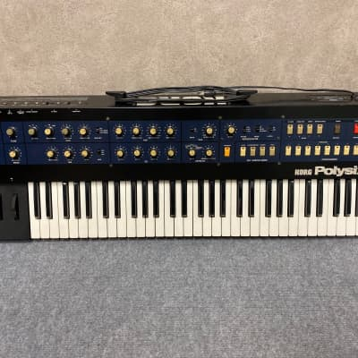 Korg PolySix on excellent working condition, serviced and calibrated !
