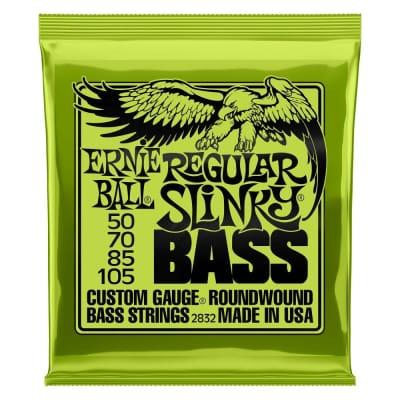 Ernie Ball P02832 Regular Slinky 50-105 Bass Guitar String Set