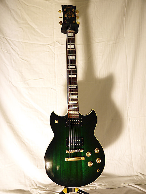 Yamaha Electric Guitar Made In Japan : yamaha sg700s electric guitar in trans green made in japan reverb ~ Vivirlamusica.com Haus und Dekorationen