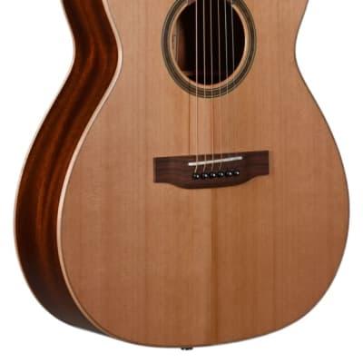 Teton STG105NT-L Grand Concert, solid cedar top, mahogany back/sides, left-handed
