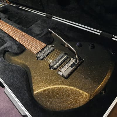USA Music Man John Petrucci RARE JP7 Limited Edition Olive Gold Sparkle 7 Seven String Guitar! jp6