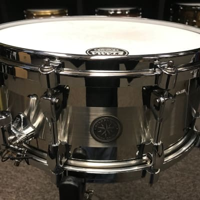 "Tama drums Starphonic Stainless Steel 6x14"" snare drum PSS146 used"