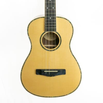 Samick UK-70 Baritone ukulele, rosewood sides and back, spruce top, deluxe uke! for sale