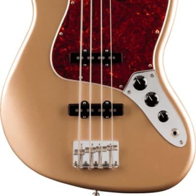 Fender Vintera '60s Jazz Bass - Pau Ferro Fingerboard, Firemist Gold for sale