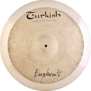 "Turkish Cymbals 22"" Euphonic Series Euphonic Ride EP-R22"