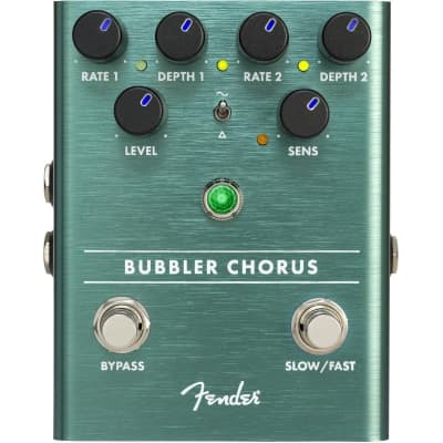 Fender Bubbler Analog Chorus and Vibrato Pedal for sale