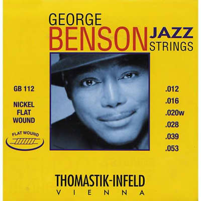 Thomastik-Infeld GB112 Benson Jazz Flatwound Set, 12-53