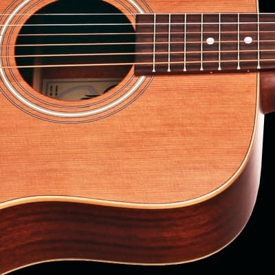 Teton STS105NT-L Left-handed Dreadnought Guitar ONLY, Solid Cedar Top, Mahogany Laminate B&S
