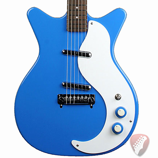 danelectro 39 59m nos electric guitar in go go blue reverb. Black Bedroom Furniture Sets. Home Design Ideas