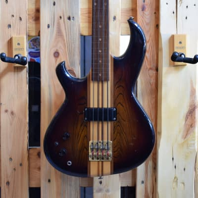 The Aria Pro II SB600 Fretless Lefthand  80`s Natural  MIJ Japan for sale