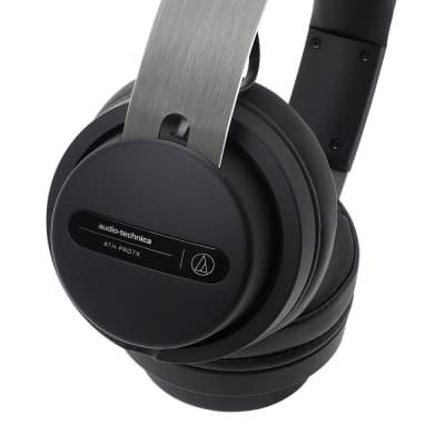 Audio-Technica ATH-PRO7X Professional On-Ear DJ Monitor Headphones