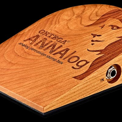 Ortega Guitars ANNALOG Stompbox, Natural (VIDEO)