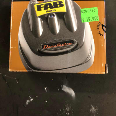 Danelectro FAB metal pedal for sale