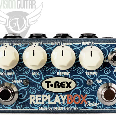 T-Rex Replay Box True Stereo Analog Delay in a Compact Box
