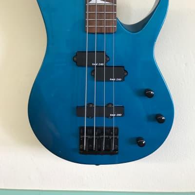 GTX 4 string P/J bass 90's Blue for sale