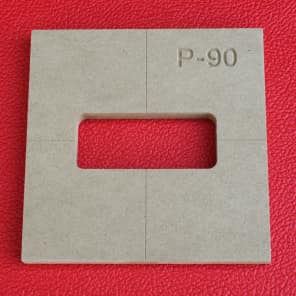 P 90 Pickup Guitar Router Template P90 Cnc 1 2 Mdf 0 5