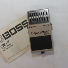 Boss GE-7 Graphic EQ