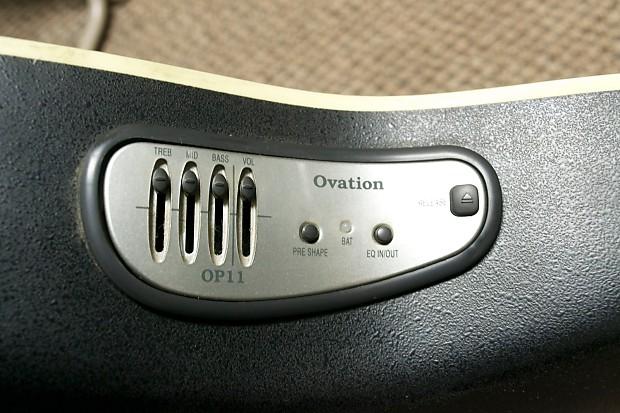 Ovation celebrity cc047 left hand