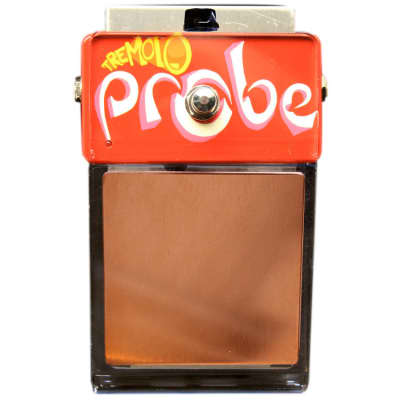 ZVEX Tremolo Probe Hand Painted Guitar Pedal