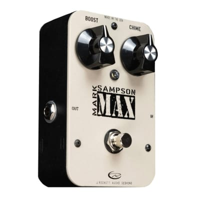J. Rockett Audio designs Mark Sampson designed MAX - Buffer / Booster Effect Pedal w/Box for sale