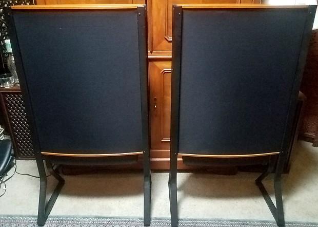 Quad ESL 63 Vintage Electrostatic Speakers with Stands