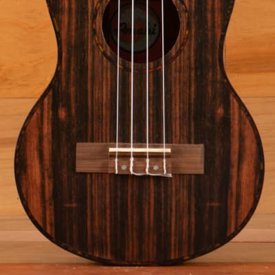 Amahi Classic Series Tenor Ukulele, Ebony for sale