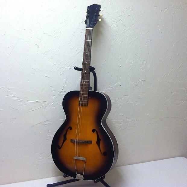 Kay N 1 L 4441 Hollow Body Guitar 50s 60s Reverb