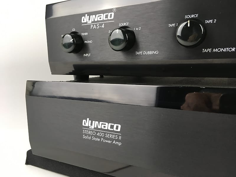 Dynaco PAS-4 Tube Preamp and Stereo 400 Solid State Amplifier