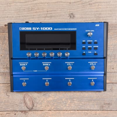 Boss SY-1000 Guitar Synthesizer Pedal USED