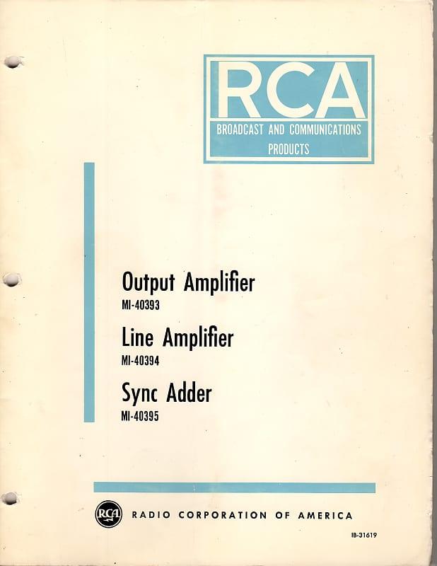 RCA MI-40393 Output Amplifier / MI-40394 Line Amplifier / MI-40395 on synthesizer schematics, antique radio schematics, zenith schematics, 4cx1500b amplifier schematics, whirlpool schematics, tube audio amplifier schematics, otl amplifier schematics, yamaha schematics, usb schematics, kitchenaid schematics, radio shack schematics, magnavox schematics, bose schematics,