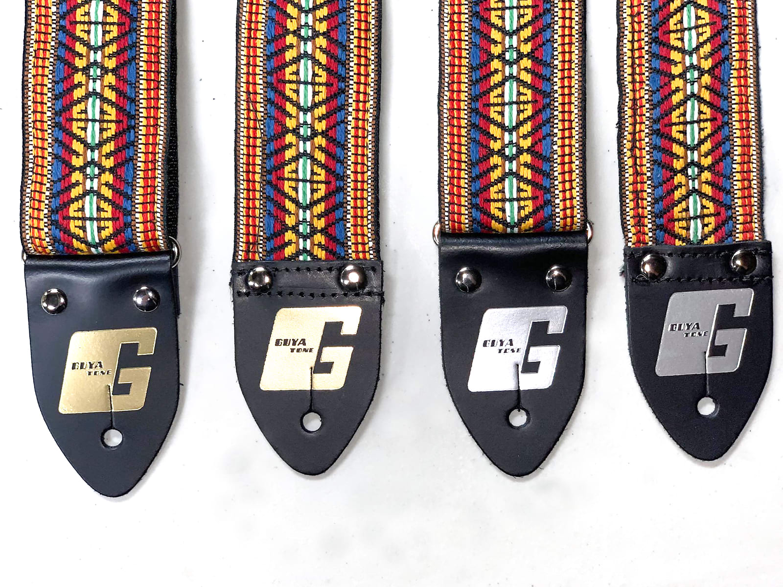 Guyatone Limited Hand-Made Vintage NEW Guitar Straps, from NOS Material! (Nylon Backing)